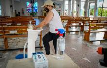 Iglesias del Atlántico preparan protocolos para su reapertura