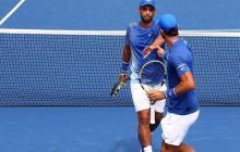 Juan Sebastián Cabal y Robert Farah no pudieron repetir el campeonato del US Open.