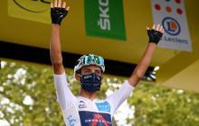 Egan Bernal es segundo en la clasificación general tras nueve etapas.