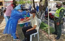 En Montería revelan estudio sobre incidencia del coronavirus