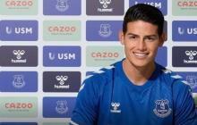 Ya es oficial: James Rodríguez es nuevo jugador del Everton
