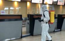 Muere de COVID pasajero que llegó a Cartagena por vía aérea