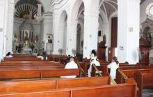 En reapertura de Catedral de Santa Marta se ordenaron dos diáconos