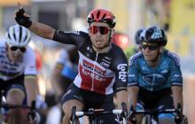 Caleb Ewan sumó su segunda victoria en el Tour; Roglic, sigue líder