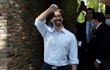 Opositor venezolano deja la Embajada de Chile tras casi tres años refugiado