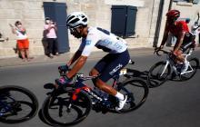 Egan Bernal es segundo en el Tour de Francia tras once etapas.
