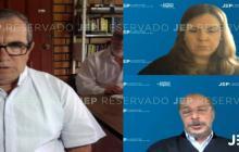 Rodrigo Londoño compareció ante la justicia especial.
