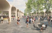 'Gran Bazar', primer proyecto de recuperación del centro
