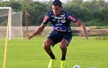 El samario Gabriel Fuentes, lateral izquierdo de Junior.