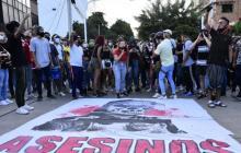 Disturbios en Barranquilla en protestas de estudiantes