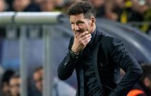 'Cholo' Simeone, positivo por Covid-19 en el Atlético de Madrid