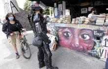 Protestas en Bogotá se mantienen vivas a través de la cultura