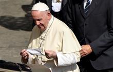 Papa pide protestas pacíficas y que se escuche la voz de los ciudadanos