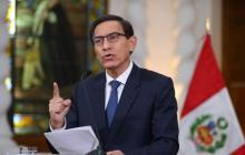 Constitucional peruano evalúa el jueves paralizar la destitución de Vizcarra