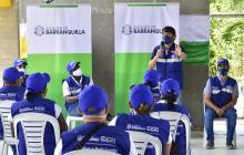 Alcalde Pumarejo presentó programa de voluntariado 'Ciudadano BAQ'