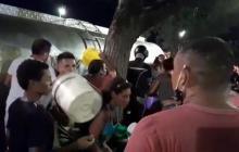 ¡Se volcó camión con 10 mil litros de leche en Valledupar!