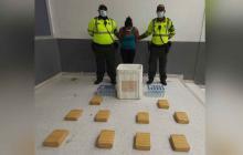 Cae mujer con 10 kilos de marihuana en Ciudadela 20 de Julio