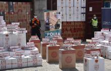 Armada incauta más de 2 millones de cajetillas de cigarrillos de contrabando