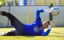 Lucho García ha entrenado con Deportivo La Coruña con algunas restricciones.