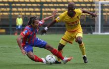El Unión Magdalena cayó 2-1 en su visita a Bogotá, en la reanudación del torneo Betplay, tras la crisis por Covid-19.
