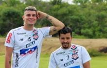 Los santandereanos Michael Rangel y Sherman Cárdenas.