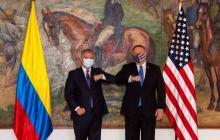 """Duque agradece a Pompeo """"respaldo de EE.UU."""" en extradición de ex-AUC"""