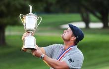 En video | DeChambeau conquista el US Open de golf