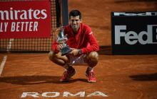 Djokovic doblega a Schwartzman y es pentacampeón en Roma