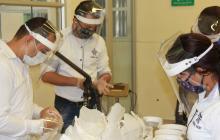 El Sena de Sucre produce elementos para protegerse de la Covid-19