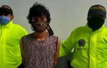 En video | Policía recaptura a alias Pichurria por hurto