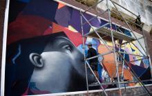 Killart arranca este miércoles pintando murales en el Malecón y Aeropuerto