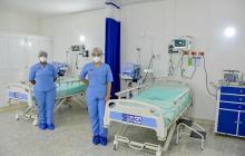 El Hospital de Plato, Magdalena inauguró sala UCI con 12 camas