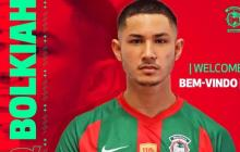 Faiq Bolkiah fue presentando como nuevo jugador del Marítimo.