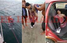 En video   Misterio en Puerto Colombia por mujer encontrada a la deriva