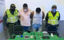 Tras persecución, Policía captura a señalados apartamenteros
