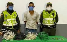 Cae por robo de cables del nuevo Puente Pumarejo