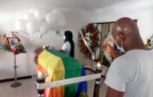 Con caravanas despidieron a Juliana Giraldo en Jamundí, Valle del Cauca
