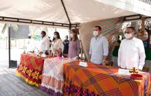 Artesanas guajiras de la avenida primera formalizan sus emprendimientos