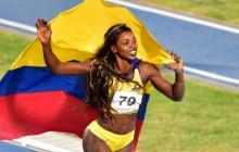 Caterine Ibargüen negó los rumores sobre una posible aspiración al congreso colombiano.