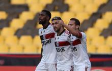 Flamengo también disputa el Grupo A de la Copa Libertadores.