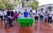 La Policía del Magdalena desarticuló la banda delincuencial 'Los Jaquez'