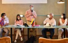 Encuentro de Alcalde en Ciénaga para impulsar proyectos comunes