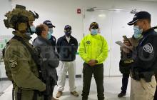 'Jorge 40' llegó a Colombia deportado de EE.UU.