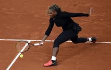 Serena Williams se retira de Roland Garros por una lesión