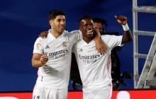 Con gol de Vinicius, Real Madrid venció por la mínima al Valladolid