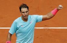 Nadal, a tercera ronda del Roland Garros; Zverev sufrió pero avanzó