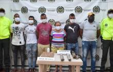 Desarticularon banda 'Los del Rubí' en allanamientos