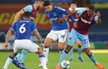 James da una asistencia en clasificación del Everton en la Copa de la Liga