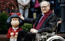 Muere a los 88 años Quino, creador de Mafalda