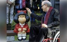 Mafalda y el mundo se quedan sin Quino